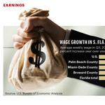 Money: Palm Beach and Miami-Dade top Broward in wage hikes