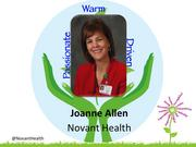 Joanne Allen, president, Novant Health Kernersville Medical Center    Allen oversees operations and strategic growth of the 50-bed hospital and the market overall. She works with Novant's physician practices and support centers, manages 300 employees and a multimillion dollar budget and is a member of Novant Health's leadership team. She is now guiding development of a medical office building that will host specialty services, including a satellite of Forsyth Medical Center's cancer center. Prior to this position, she served 18 years at Forsyth Medical Center in a variety of roles, including several leadership roles as a nurse.     Allen serves on the economic development committee for the town of Kernersville, the board of the Piedmont Triad Partnership and will be the 2014 chair of the Go Red for Women campaign.