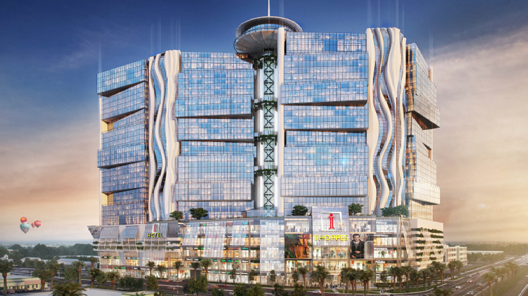 An international development firm is looking for city of Orlando approval to build a multi-story megamall and hotel on the corner of International Drive and Kirkman Road.