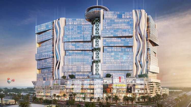 A real estate firm is looking for city of Orlando approval to build a multi-story megamall and hotel at International Drive and Kirkman Road.
