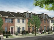 The Archer Park townhomes, as imagined by WC Smith and SK&I.