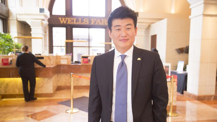 """Sang Kim...""""We're a local bank, we're a Wisconsin bank. That's what I want to achieve."""""""
