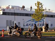 "Lake Express is offering its ""motorcycles ride free"" program in May, June and later in the season."