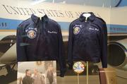 Jackets worn by the president and first lady while on Air Force One.