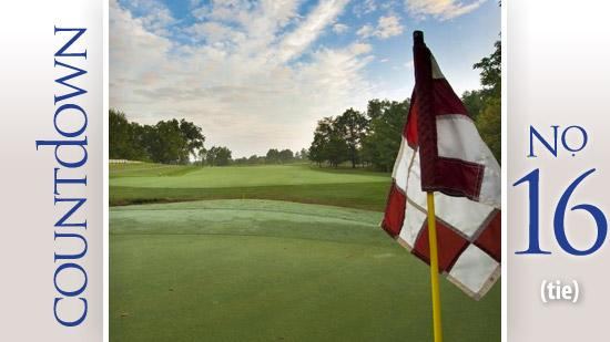 New Albany Country Club Golfer: Jack Nicklaus. Nicklaus designed the course and shot the record the year it opened for play.  Score: 66 Year: 1992