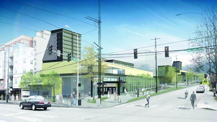 The Business Journal's award-winning team report was about clustering multi-family development around transit stops. A good example is this large site at the future Roosevelt Station in North Seattle. It will be available for development after the station's scheduled opening in 2021.
