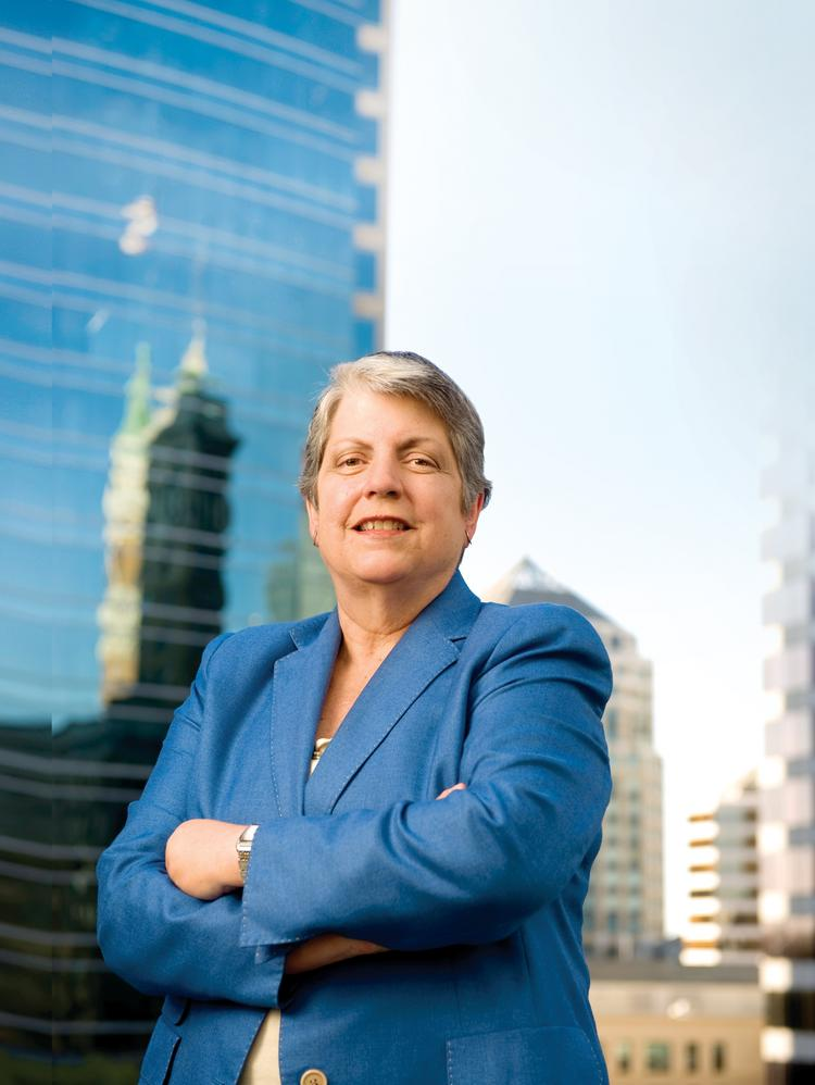 Janet Napolitano is in Mexico this week to strengthen research ties between the University of California and Mexican research institutions.