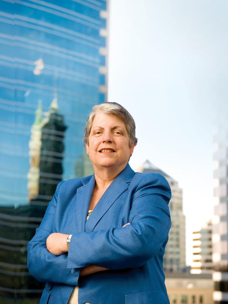 Janet Napolitano is steering the University of California, a $24 bilion-a-year system that's crucial to the state's economic future.