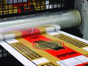 An example of flexo printing