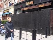 Forum, a Back Bay restaurant, took a direct hit from the second bomb blast. Its surveillance camera footage was cited in an FBI affidavit accusing alleged bomber Dzhokhar Tsarnaev.