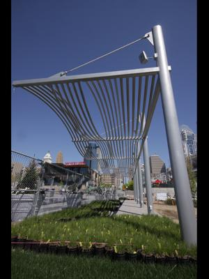The new funding from the U.S. Army Corps of Engineers will be used to build pergolas similar to ones that already exist at Smale Riverfront Park, among other features.