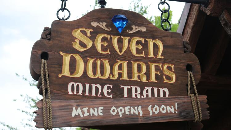 This mine may open sooner than you think. Mark down May 28 on your calendar for the opening of Disney's new Seven Dwarfs Mine Train.