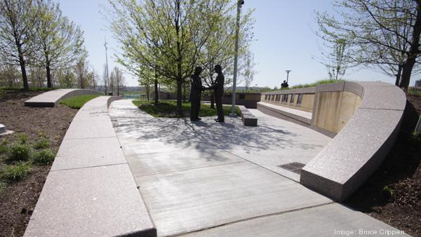 Smale Riverfront Park, which is still being completed, is one of the many recreational spaces available to residents of Greater Cincinnati.