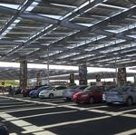 Shade structures a bright spot for commercial solar