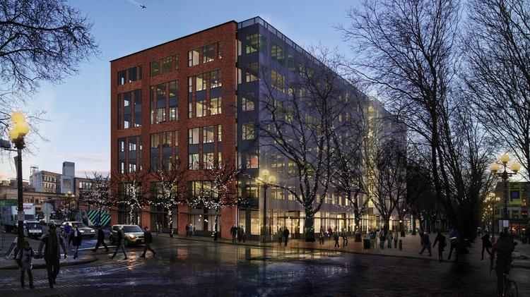 Greg Smith of Seattle real estate company Urban Visions hopes to start construction of the 200 Occidental project in a year.