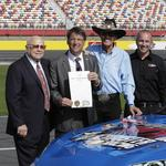 'Motorsports Month' and a not-so-subtle request from Bruton Smith