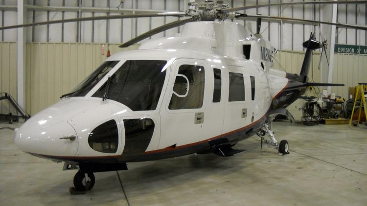 NCDOT is trying to sell this helicopter - but so far, no buyers have surfaced.