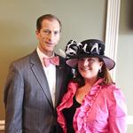 Local bank leaders do business at the Kentucky Oaks