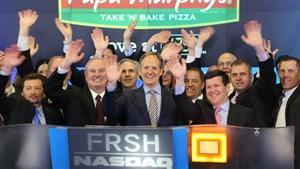 The Papa Murphy's team launches the Nasdaq trading day Friday morning. The company's trading under the FRSH symbol.