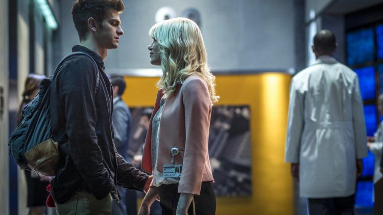 """The chemistry between Andrew Garfield and Emma Stone is the best thing about """"The Amazing Spider-Man 2."""""""