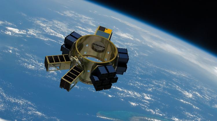The Sherpa will carry multiple satellites into space, and then release them at precise times.