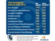 Top business goals for 2014