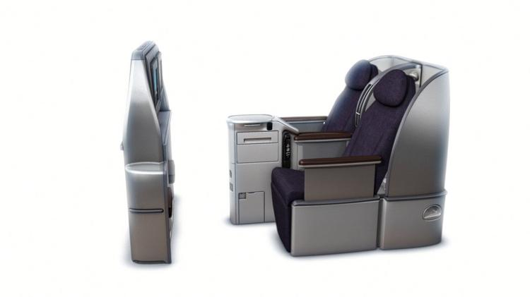 B/E Aerospace, which makes aircraft cabin interiors like the one pictured, is exploring strategic alternatives including a possible sale, merger or spinoff of the company.