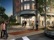 A new Rite Aid pharmacy storefront will be located in the JBG Cos.' planned eight-story, 165-unit apartment building at 13th and U streets NW.