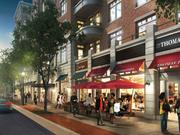 JBG's planned project at 13th and U streets NW will feature a healthy chunk of ground floor retail. Construction is expected to begin in the fourth quarter and take two years.