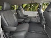 The interior of the 2014 Toyota Sienna.