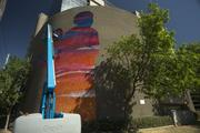 A view of the six-story mural at Thomas Road and Central Ave. in Phoenix.