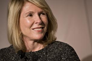 Susan Lyne, chief executive of AOL Brand Group, is half of the duo behind the new Moviefone app.