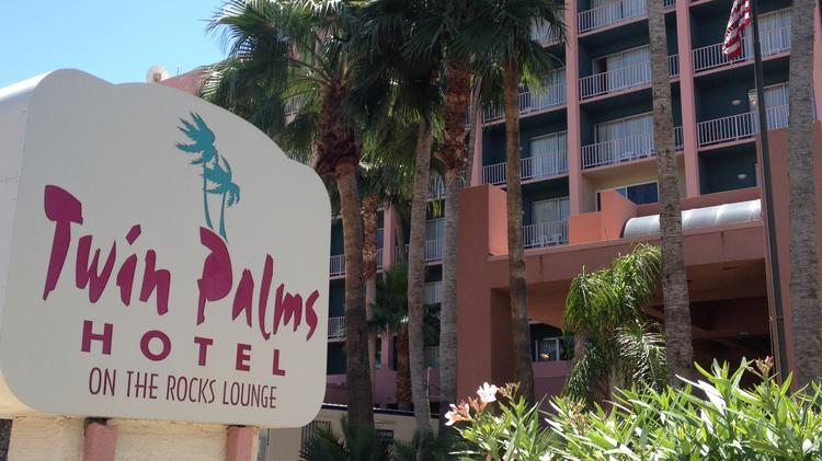 The 39-year-old Twin Palms Hotel in Tempe will close May 16.