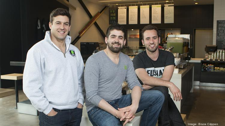 Fusian was co-founded by, from left, Josh Weprin, Zach Weprin and Stephan Harman.