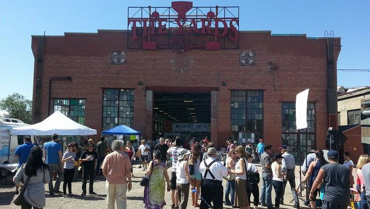 ​The popular Rail Yards market will likely be moved as development of the overall site proceeds.
