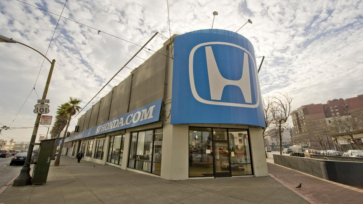 Honda Dealership Memphis >> Crescent Heights to buy site for second Mid-Market highrise project - San Francisco Business Times