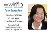 Businesswoman of the Year, for-profit finalist Donna Schmidt, Pearl City Urgent Care