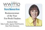 Businesswoman of the Year, for-profit finalist Kimberly Hahn, State Farm Insurance