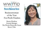 Businesswoman of the Year, for-profit finalist Denise Wardlow, The Westin Princeville Ocean Resort Villas