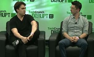 Secret co-founder David Byttow (left) and Chrys Bader-Wechseler (right).