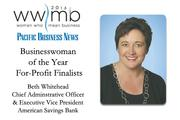 Businesswoman of the Year, for-profit finalist Beth Whitehead, American Savings Bank
