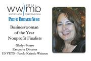 Businesswoman of the Year, nonprofit finalist Gladys Peraro, US VETS