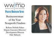 Businesswoman of the Year, nonprofit finalist Robyne Nishida Nakao, Hale Mahaolu