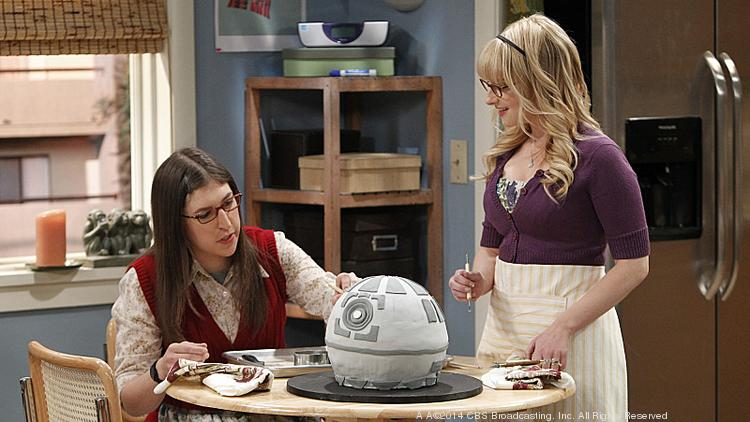 """The Star Wars Day episode of """"The Big Bang Theory"""" was number one among adults 18-49 last week, helping CBS tie with ABC atop the demo."""