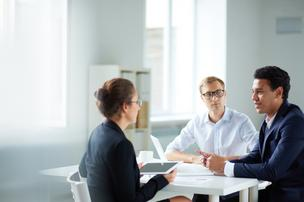 Interviewees should not be afraid to pose questions to potential employers.