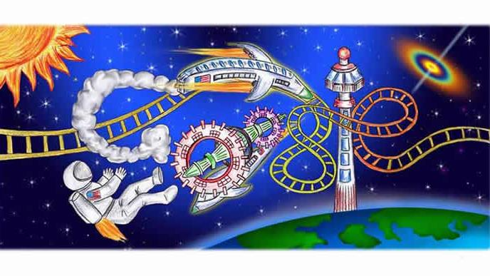 A doodle for Google by Christine Jeong