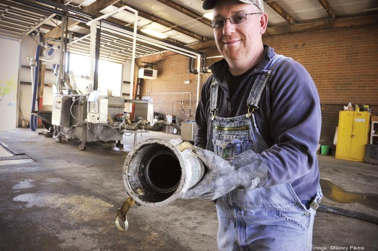 BlackGold's Charlotte plant churns through an average 50,000 gallons per day recycling fats, greases and oils.