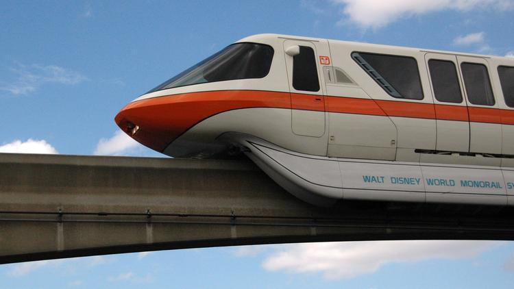 What would you do with a Walt Disney World monorail? A local company has one up for auction on eBay.