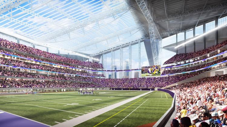 Minnesota is one of three finalists to host the 2018 Super Bowl. The game would be played at the new Minnesota Vikings stadium that will open in 2016.