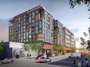 Another view of 1270 Fourth St. NE, a proposed development from Edens that will include more than 500 residential units and nearly 40,000 square feet of ground floor retail.